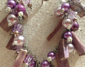 Purple Jingle Bracelet