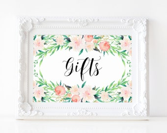 """Instant Download - Delicate Bouquet Gifts Print - 5""""x7"""""""