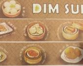 Dim Sum 02 - Hong Kong Series - Japanese Washi Masking Tape - 30mm Wide - 5.5 yards