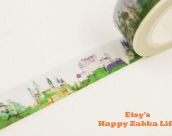 Castel - Japanese Washi Masking Tape - 11 yards
