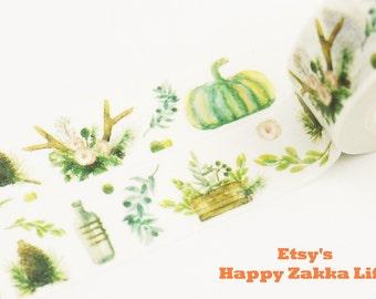 My Harvest - Japanese Washi Masking Tape - 11 Yards