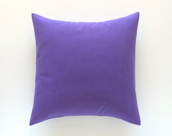 50% OFF CLEARANCE Thistle Purple Decorative Pillow Cover. 18x18. Throw Pillow Cover. Thistle Purple Cushion