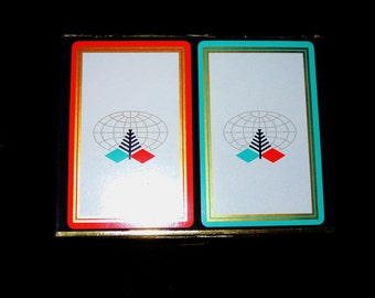 Vintage Diamond International Corporation Playing Cards, Mint Condition