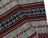 Thai Woven Cotton Fabric Tribal Fabric Native Fabric by the yard Ethnic fabric Aztec fabric Craft Supplies Woven Textile 1/2 yard (WF147)