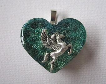 Pegasus Resin Pendant