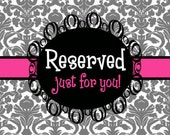 Reserved for casteam