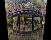 Wastebasket - Japanese Bridge