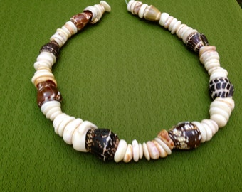 Shell Lei Puka Shell Puka Shell Jewelry Kauai Beach Jewelry Kauai Made Hawaiian Style Eco FriendlyGathered Eco Freindly Endangered reef Gems