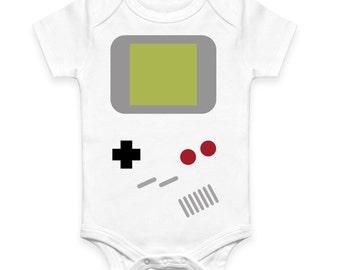 Game Boy Inspired Baby Vest