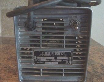 Vintage EPRAD Hot-Shot Drive in Movie Theater Car Heater-FREE USA Shipping
