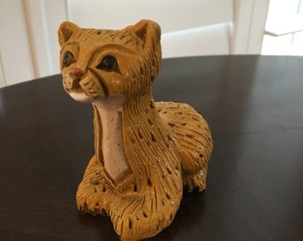 Leopard CAT Artesania Rinconada figurine