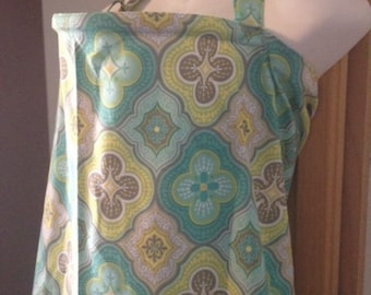 Breastfeeding nursing cover like hooter hider ready to ship new tiles green   or more in my store choose fabric