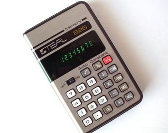 TEAL Model 826 Calculator, Japan