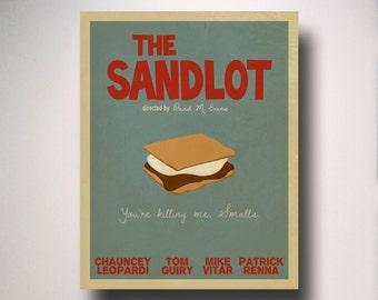 The Sandlot Minimalist Movie Poster / Wall Art / Movie Film Poster
