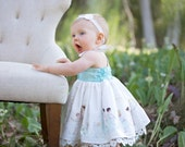 Lauren Baby Doll Style PDF Sewing Pattern & Tutorial, All sizes 0-3m through 18-24m Included.