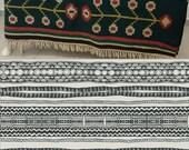 Printed Modern Geometric Organic Cotton Sateen Fitted Crib Sheet