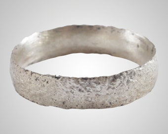 French Country Wedding Band, Viking Age Ring, C.866-1067A.D. Size 7 1/4  (17mm)(Brr1048)