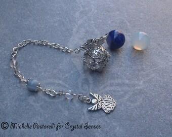 Angelic Interchangeable Sphere Dowsing Pendulum (DP0329)
