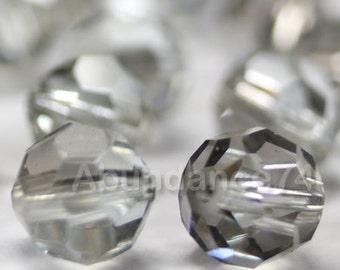 Promotion Item - 120pcs Swarovski Elements 5000 4mm Crystal Round Beads - SHADOW CRYSTAL (While Stocks Last)