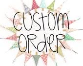 Custom Order for Lisa - Set of 3 Cinnamon Stick Christmas Trees in Green Linen