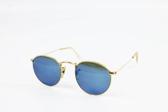 blau gespiegelte ray ban