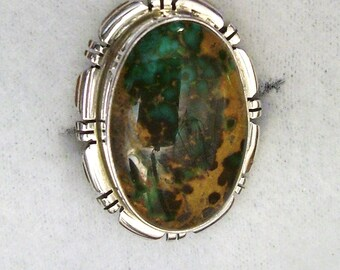 GORGEOUS GREEN  TURQUOISE Ring   # 605