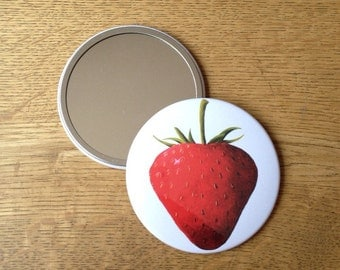 Strawberry Hand Mirror