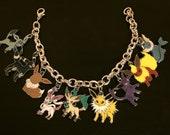 Pokemon Eevee Charm Bracelet