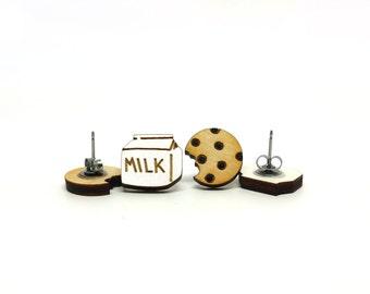 Milk and Cookies Earrings