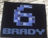 Computer Number - Pixel Design - Minecraft Inspired Birthday Shirt- Perfect for Birthday