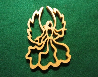 Angel  with wings Christmas Ornament