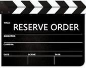 Reserve Order for kayjoooo
