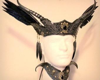 Morrigan Crown & collar