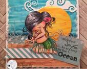My Besties Ocean Joys Handmade Card