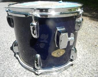 nice shape 1980s vintage blue TAMA small SWINGSTAR TOM drum