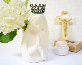 Vintage Mother Mary Madonna Planter/Vase by Haegar USA