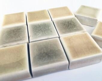 Off-White Square Tiles
