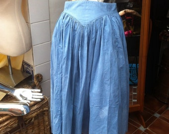 Vintage 1980s Laura Ashley Full Skirt