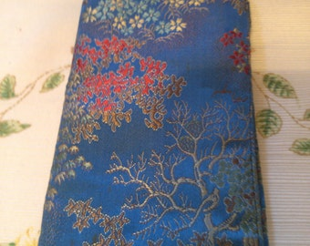 Brocade Wallet or Jewelry Holder or Check Book Holder