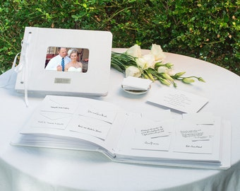Personalized Wedding Wishes Envelope Guest Book Reception Bridal Shower Gift