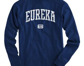 LS Eureka 707 Tee - Long Sleeve T-shirt - Men and Kids - S M L XL 2x 3x 4x - Eureka California Shirt, Humboldt County - 4 Colors