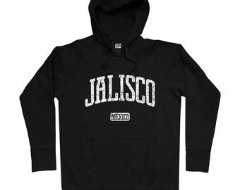 Jalisco Mexico Hoodie - Men S M L XL 2x 3x - Jalisco Hoody, Sweatshirt, Mexican, Guadalajara, Zapopan, Puerto Vallarta, Chapala - 4 Colors