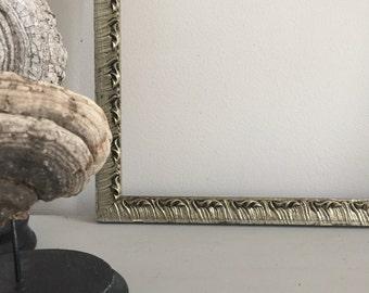 Silver Leaf Frame