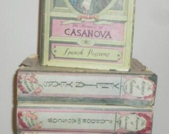 The Memoirs of Jacques CASANOVA De Seingalt Set of 6 Volumes