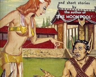 "Rare Books: ""The Fox Woman"" | A. Merritt | 1949 | Fantasy Pulp Fiction | First Edition | Anthologies | Short Stories"