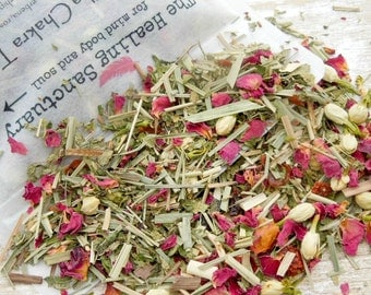 Vishuddha Chakra Organic Herbal Loose Tea