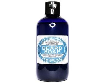 Natural Beard Shampoo BIG Beard Soap Beard Wash 250ml 3.5oz BSO