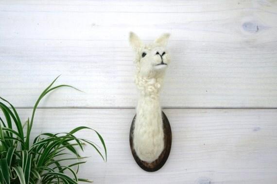 Felted Alpaca (Vicugna pacos)
