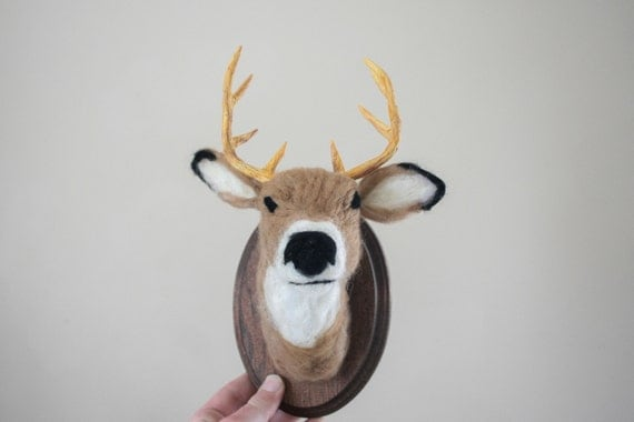 Faux Taxidermy White-tailed Deer (Odocoileus virginianus)