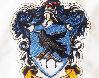 Ravenclaw Harry Potter Embroidered Iron On Patch